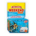 Корм Dajana Pet Weekend block для рыб, на время отпуска, 25 г.