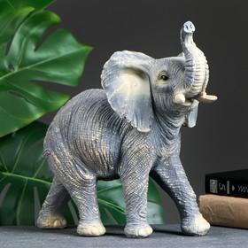 """Фигура """"Слон"""" серый 29х32х15см"""