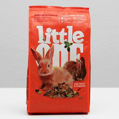 Корм Little One для молодых кроликов, 400 г - Фото 1