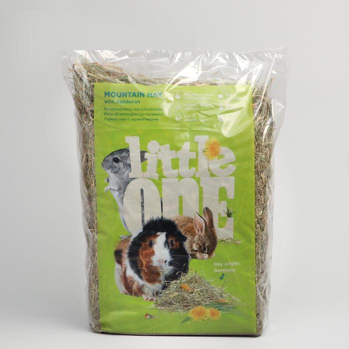Горное сено с одуванчиком, непрессованное, 400 г
