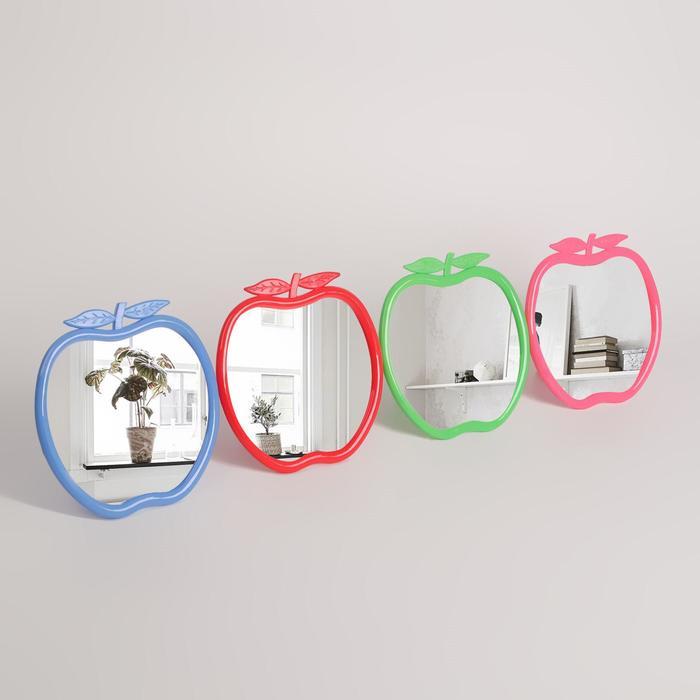 Зеркало складное-подвесное, d зеркальной поверхности 13 см, МИКС
