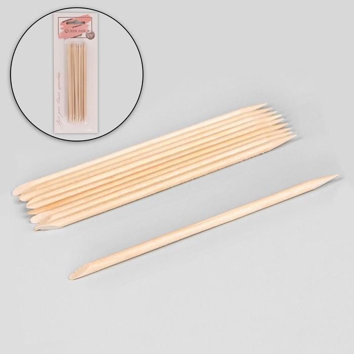 Апельсиновые палочки для маникюра, 11,4 см, 10 шт