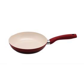 Сковорода Atlantis, цвет красный, d=24 см