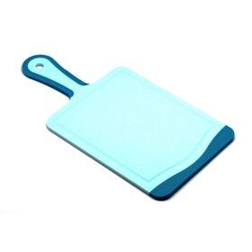 Кухонная доска Atlantis Flutto, цвет голубой, 35 x 18 см