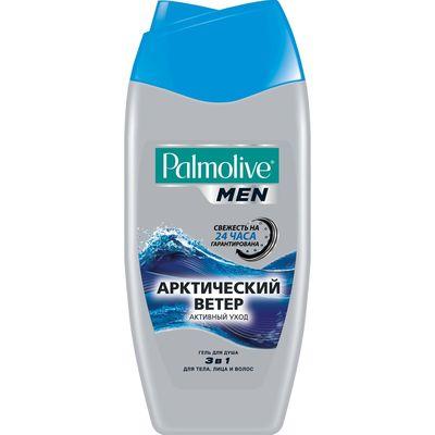 Гель для душа Palmolive Men 3 в 1 «Арктический ветер», 250 мл - Фото 1
