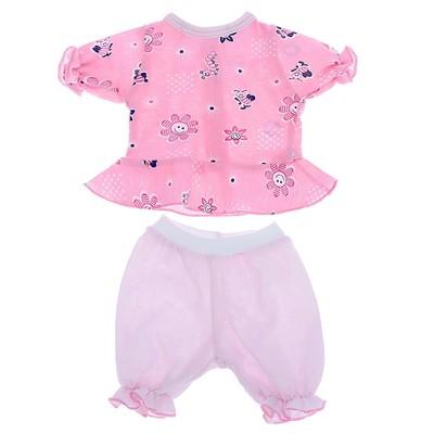 Одежда для кукол «Кофточка и бриджи», МИКС
