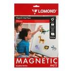 Бумага с магнитным слоем LOMOND 2020345 для струйной печати А4, 2 листа, 660 г/м², глянцевая