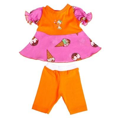 Одежда для кукол «Платье и бриджи» , МИКС - Фото 1