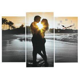 Часы настенные модульные «Влюблённая пара», 60 × 80 см Ош