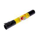 Мешки для мусора 120 л, толщина 16 мкм, 10 шт, цвет чёрный