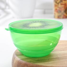 Контейнер пищевой «Сочный фрукт», 900 мл, цвет МИКС