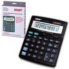 Калькулятор настольный 12-разрядный STAFF STF-888-12, двойное питание, 200х150 мм