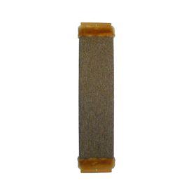 Когтеточка ЗВЕРЬЕ МОЕ, М-4, ковровая с мехом, большая, 67*15*3