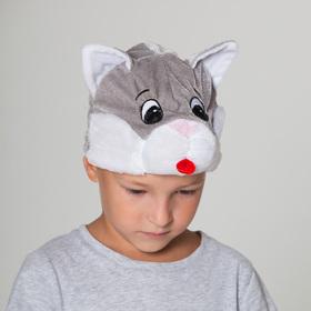 Карнавальная шапка 'Кот', р-р 52-57 см Ош