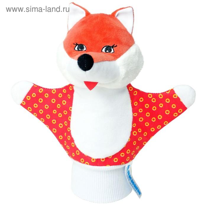 """Развивающая игрушка-рукавичка """"Лисичка"""""""