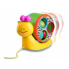 Игрушка «Веселая улитка» на веревочке