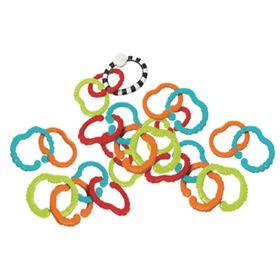 Игрушка-цепь «Весёлые колечки», 25 шт