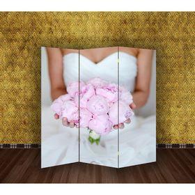 Ширма 'Свадьба. Букет невесты' 150 × 160см Ош