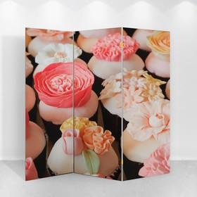 Ширма 'Свадьба. Цветы' 150 × 160см Ош