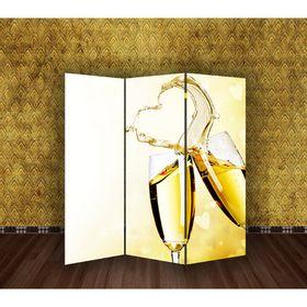 Ширма 'Свадьба. Брызги шампанского' 150 × 160см Ош