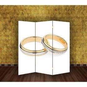 Ширма 'Свадьба. Обручальные кольца' 150 × 160см Ош