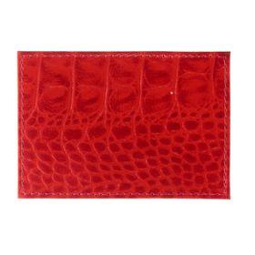 Футляр для карточек, цвет красный
