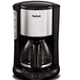 Кофеварка Tefal CM 361838, капельная, 1000 Вт, 1.25 л, серебристо-чёрная