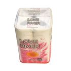 "Туалетная бумага двухслойная ""LOVE RIVER"", двухслойная, белая IDESHIGYO, 27.5 м, 12 рулонов   207762"