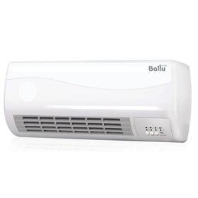 Тепловентилятор Ballu BFH/W-102W, настенный, керамический, 2000 Вт, 25 кв.м., таймер