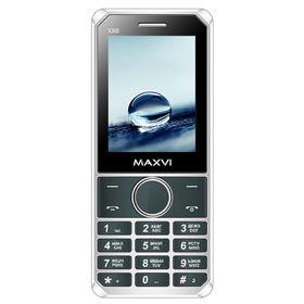 Сотовый телефон Maxvi X300, 2 sim, серый