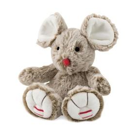 Мышка маленькая, цвет песочный