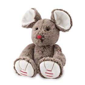 Мышка средняя, цвет шоколадный