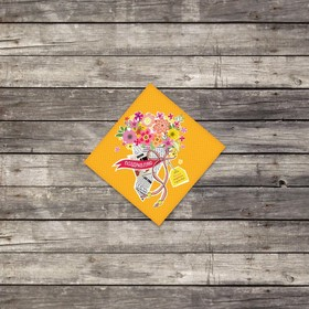 Мини–открытка «Радости и улыбок», 7 х 7 см Ош
