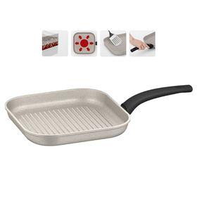 Сковорода-гриль с антипригарным покрытием, 26 × 26 см MARMIA