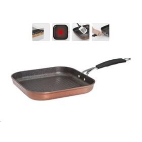 Сковорода-гриль с антипригарным покрытием, 26х26 см MEDENA