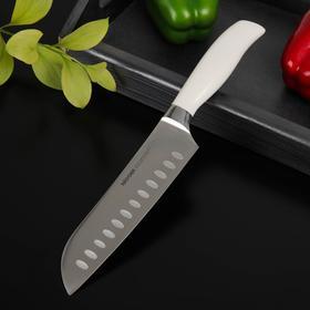 Нож кухонный NADOBA BLANCA Сантоку, лезвие: 17,5 см
