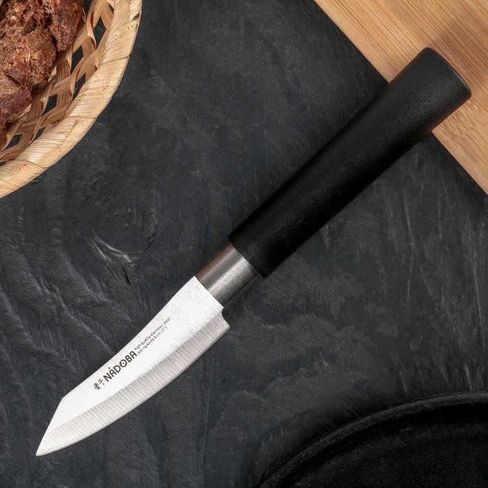 Нож кухонный NADOBA KEIKO для овощей, лезвие 8 см