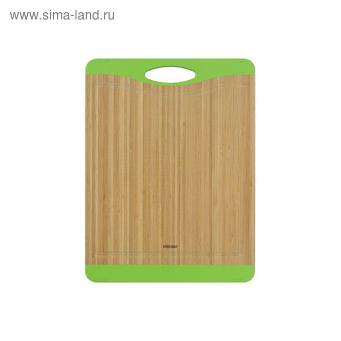 Разделочная доска из бамбука NADOBA, 40 × 30 см, KRASAVA