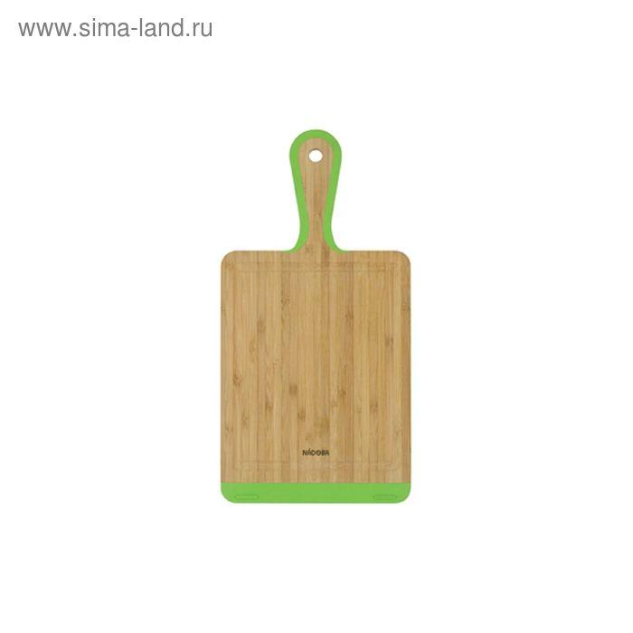 Разделочная доска из бамбука, 36 × 18 см KRASAVA