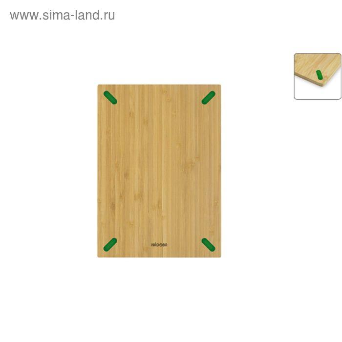 Разделочная доска из бамбука, 28 × 20 см STANA