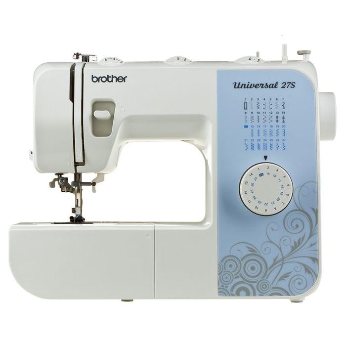 Швейная машина Brother Universal 27S, 26 операций, обметочная, потайная, эластичная строчка