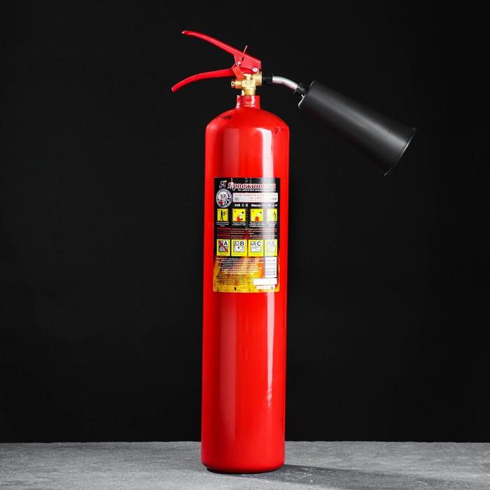 Огнетушитель углекислотный ОУ-3 ВСЕ