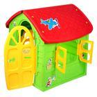 Детский игровой домик, цвет зелёный - Фото 2