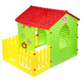 Детский игровой комплекс «Домик с забором» Ош