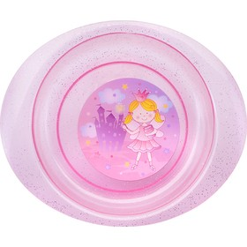 Тарелочка детская для первых блюд «Принцесса», 400 мл, от 4 мес., цвета МИКС
