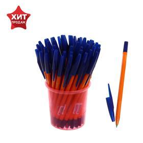 Ручка шариковая «Стамм» 333, узел 0.7 мм, чернила синие на масляной основе, стержень 130 мм