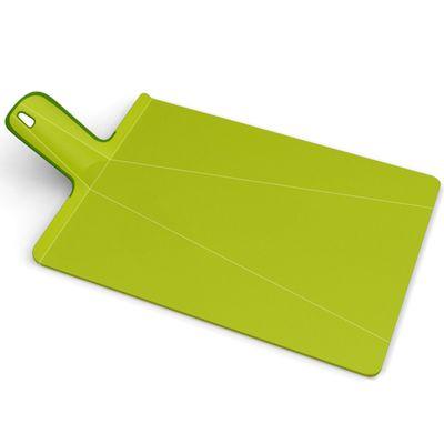 Доска разделочная Joseph Joseph Chop2Pot Plus, большая, зелёная