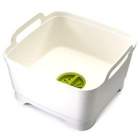 Контейнер для мытья посуды Joseph Joseph Wash&Drain, белый Ош