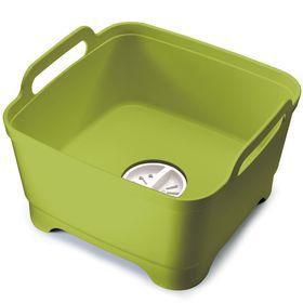 Контейнер для мытья посуды Joseph Joseph Wash&Drain, зелёный Ош