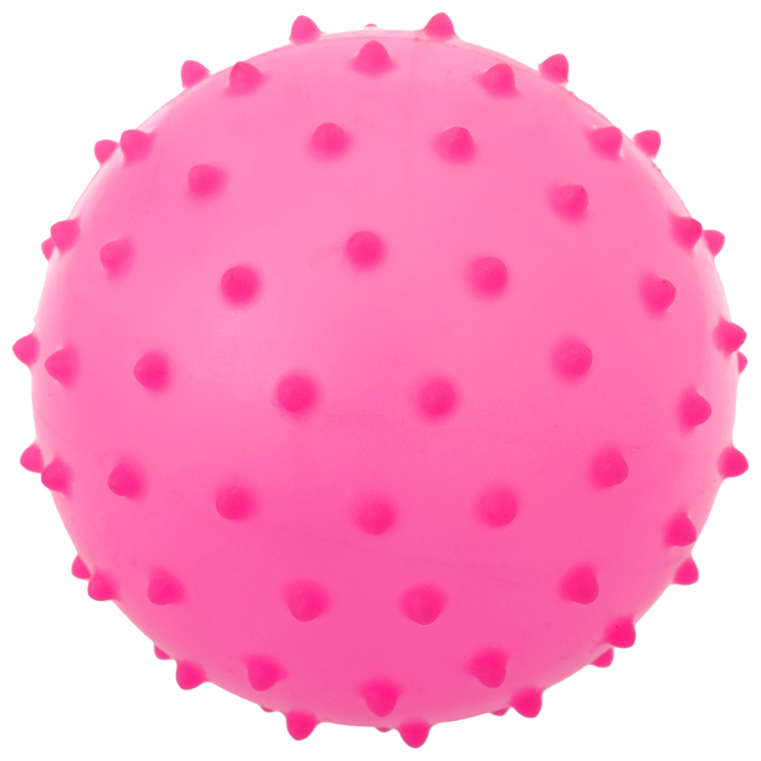 Мячик массажный, матовый пластизоль d8 см, 15 г, цвет МИКС